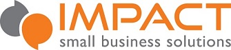 IMPACT small business solutions Logo
